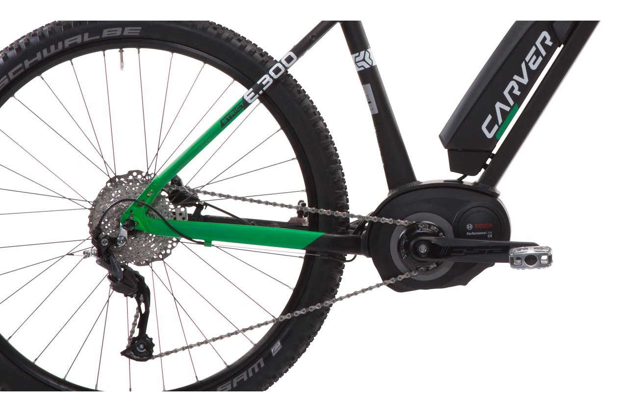 Carver Strict E.300 - 400 Wh - 27,5 Zoll - Hardtail