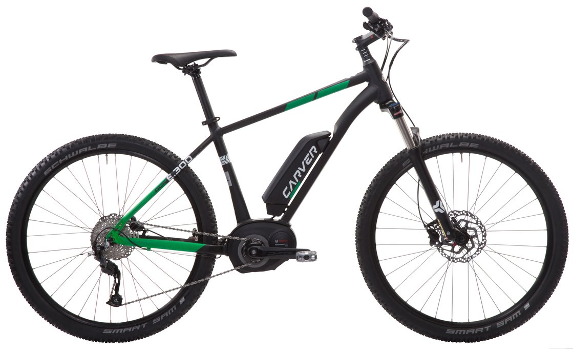 Carver Strict E.300 - 400 Wh - 29 Zoll - Hardtail