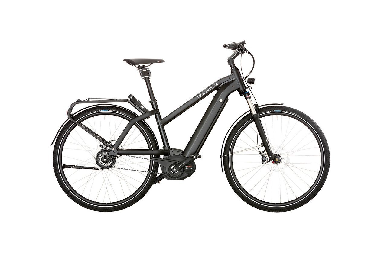 Riese und Müller New Charger Mixte nuvinci - 500 Wh - 2018 - 28 Zoll - Damen Sport