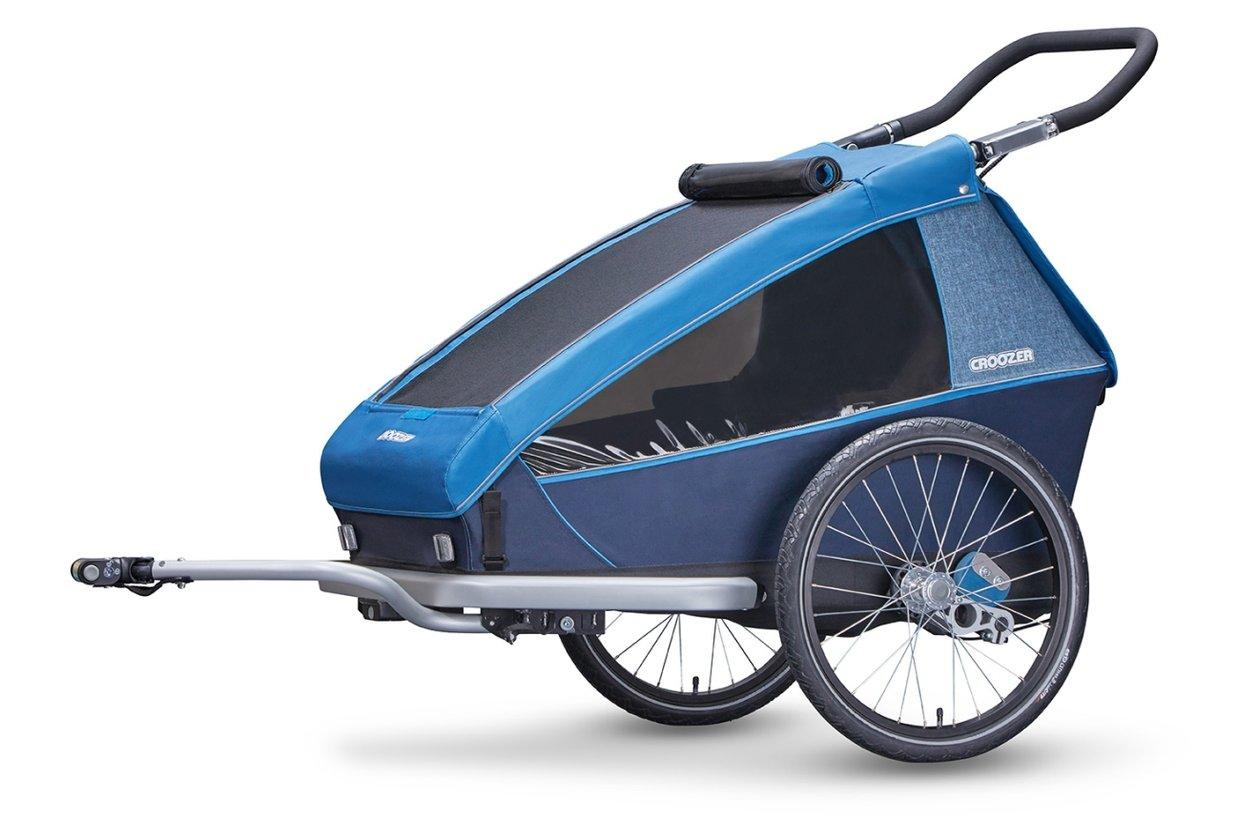croozer kid plus for 2 fahrradanh nger 2018 11 fahrrad xxl. Black Bedroom Furniture Sets. Home Design Ideas