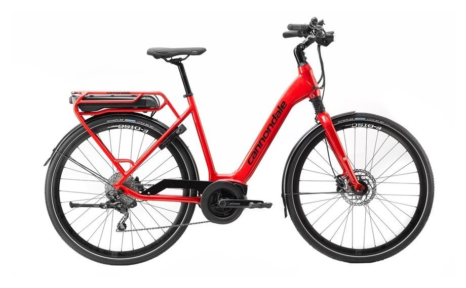 cannondale mavaro active city e bike rot modell 2019. Black Bedroom Furniture Sets. Home Design Ideas