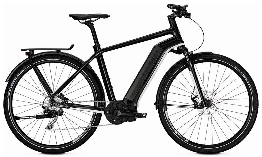 kalkhoff integrale advance i10 e bike schwarz modell 2018. Black Bedroom Furniture Sets. Home Design Ideas