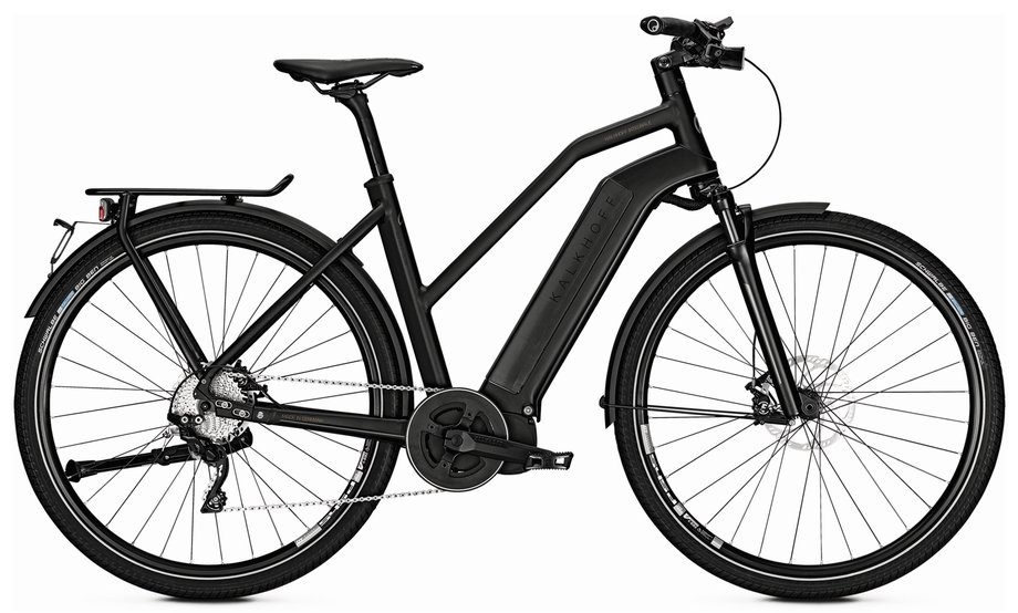 Kalkhoff Integrale i10 Speed E-Bike Schwarz Modell 2018