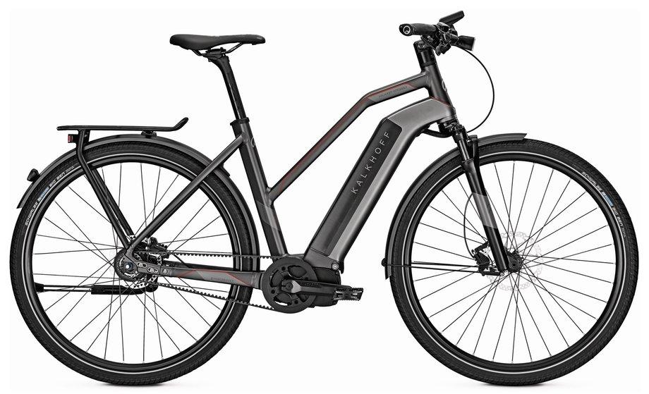 kalkhoff integrale i8 e bike schwarz modell 2017 test e. Black Bedroom Furniture Sets. Home Design Ideas