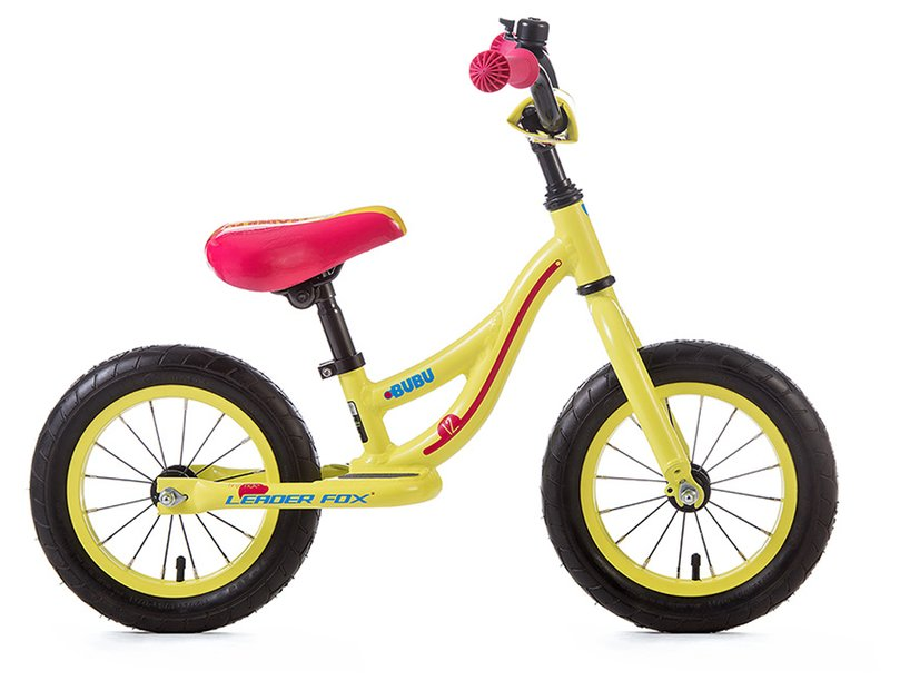 Leaderfox Bubu Kinderlaufrad Gelb