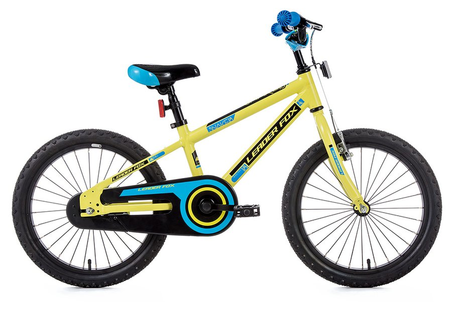 Leaderfox Snake 18 Santo Boy 18 Kinderfahrrad Grün Modell 2017
