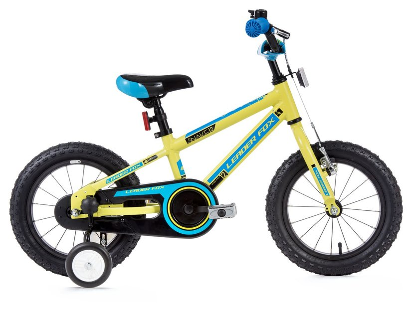 Leaderfox Snake 12 Santo Boy 12 Kinderfahrrad Gelb Modell 2017