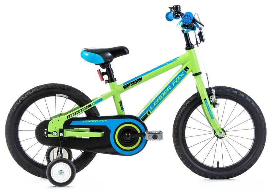 Leaderfox Snake 16 Santo Boy 16 Kinderfahrrad Grün Modell 2019