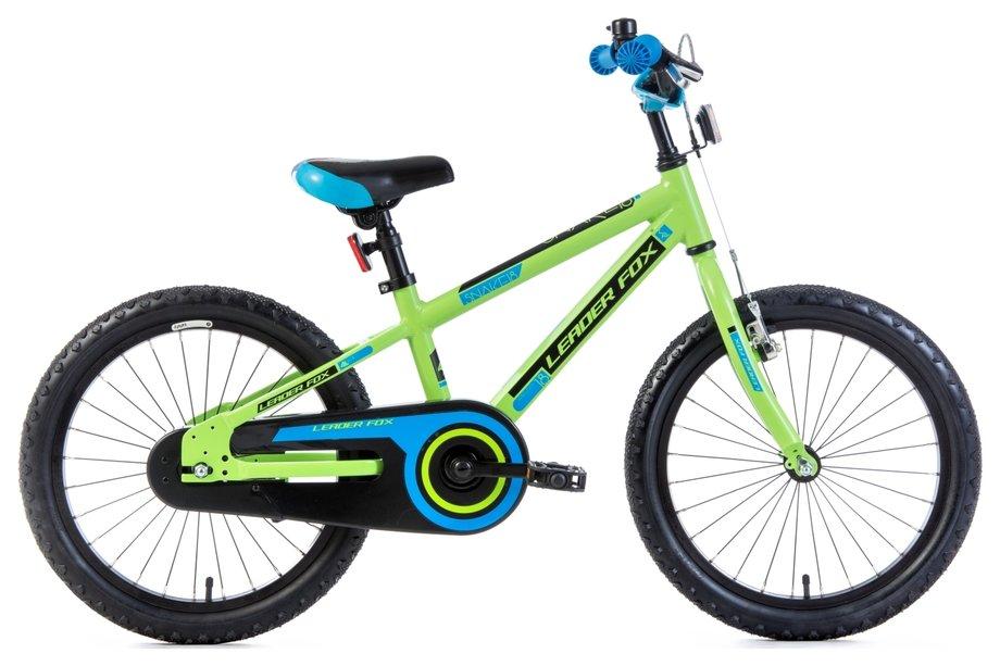 Leaderfox Snake 18 Santo Boy 18 Kinderfahrrad Grün Modell 2019