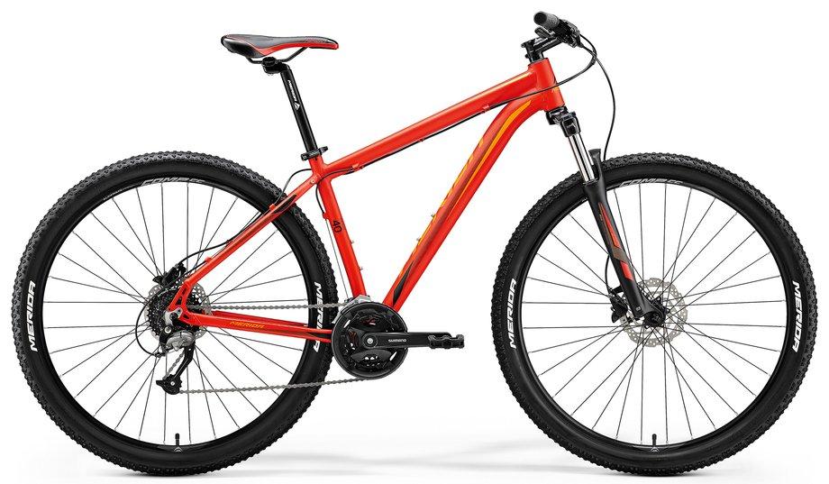 Merida Big.Nine 40 D Mountainbike Rot Modell 2018