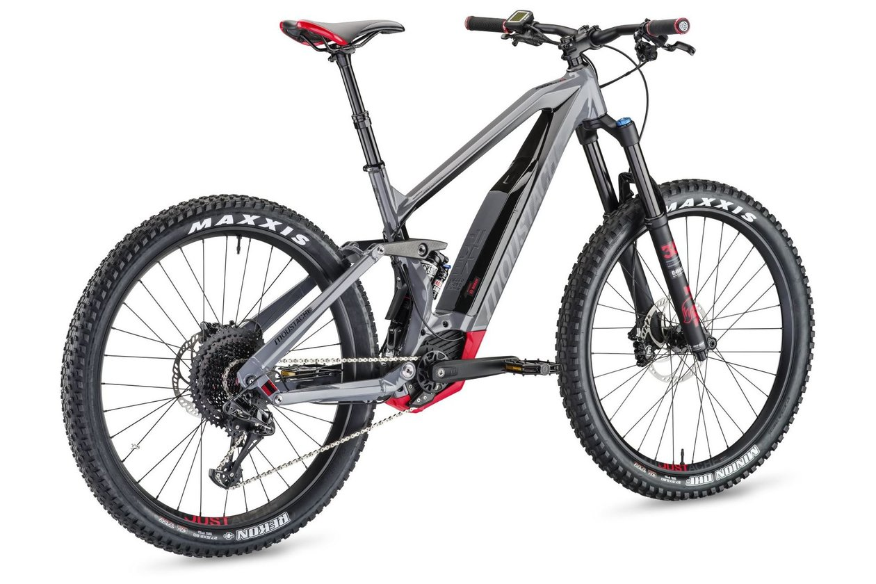 Moustache Samedi 27 Race 9 Carbon - 500 Wh - 2018 - 27,5 Zoll - Fully
