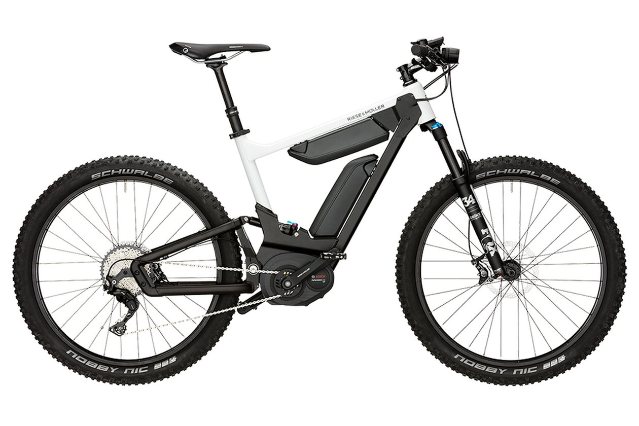 Riese und Müller Delite mountain (Dual Battery) - 1000 Wh - 2018 - 27,5 Zoll - Fully
