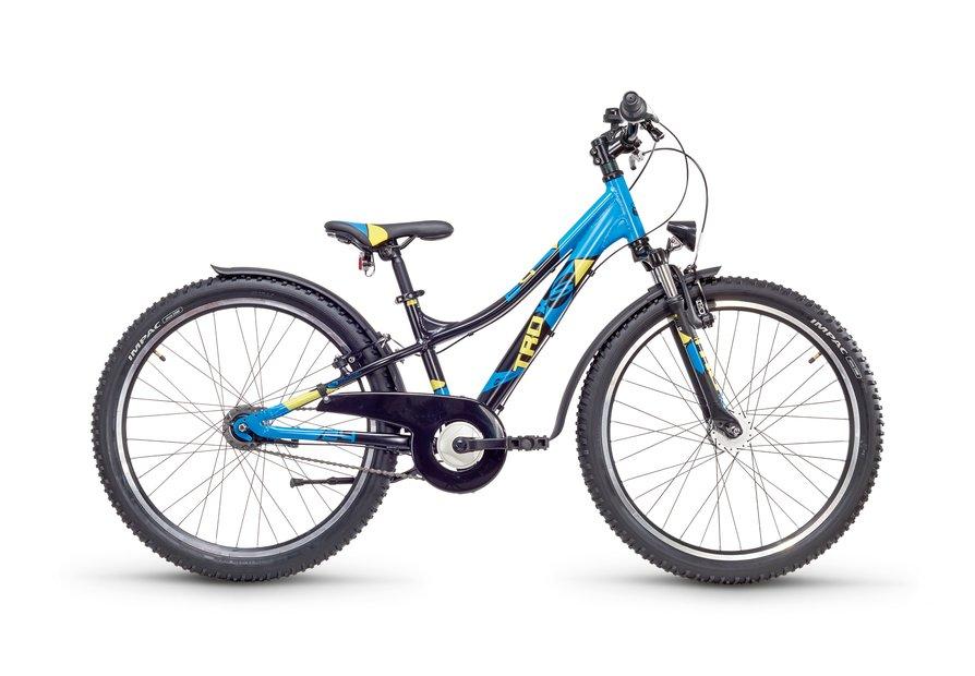 S'cool troX Urban 24 7 S Kinderfahrrad Schwarz Modell 2018