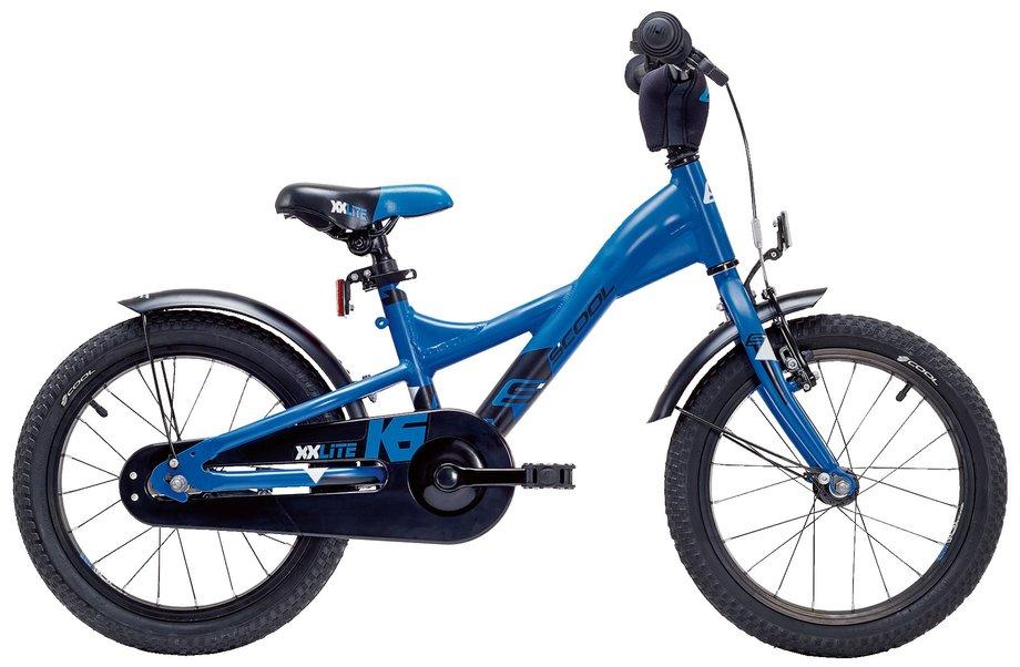 S'cool XXlite Alloy 16 Kinderfahrrad Blau Modell 2018
