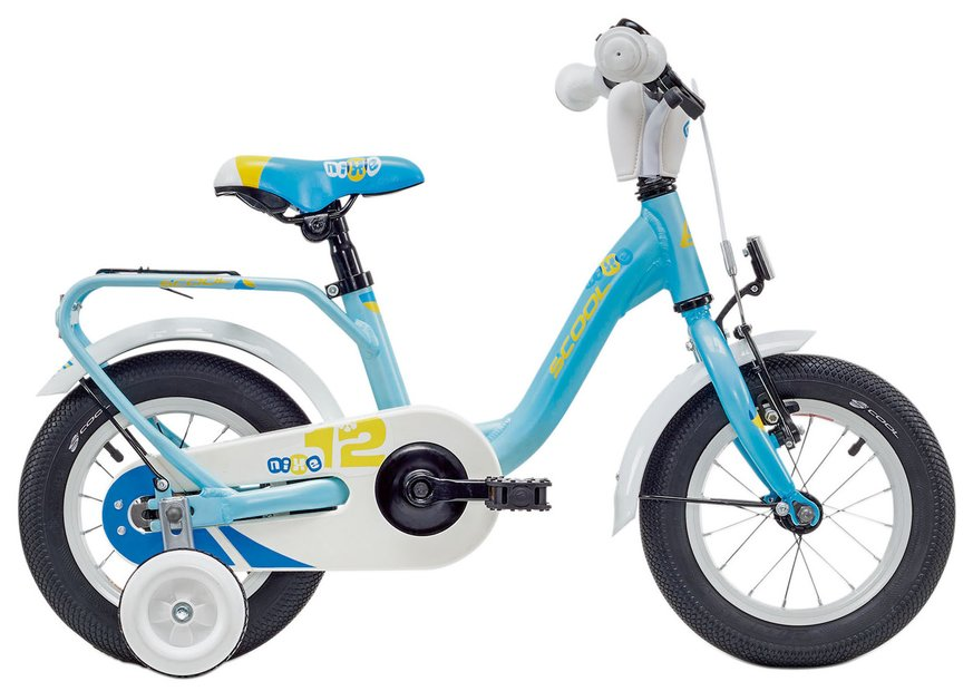 S'cool niXe Alloy12 Kinderfahrrad Blau Modell 2018