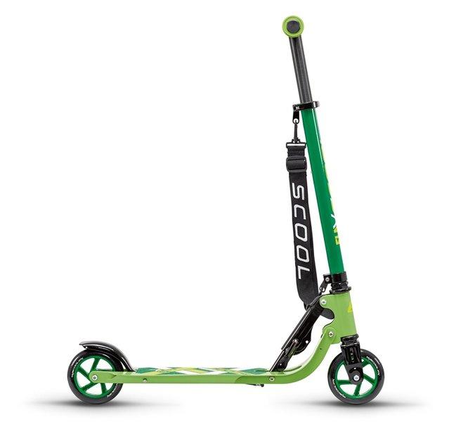 S'cool flax 8.1 Roller Grün Modell 2018