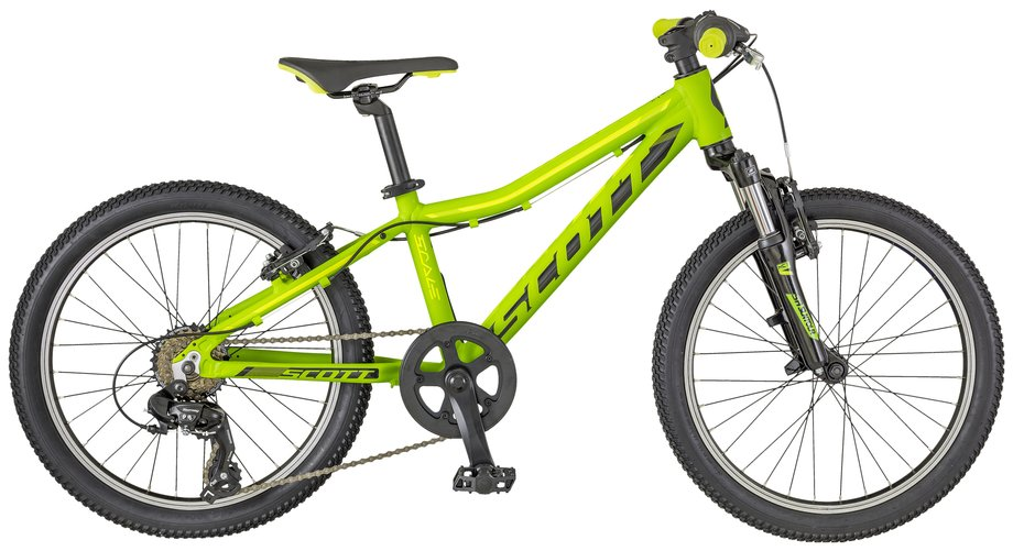 Scott Scale Jr 20 Kinderfahrrad Grün Modell 2018