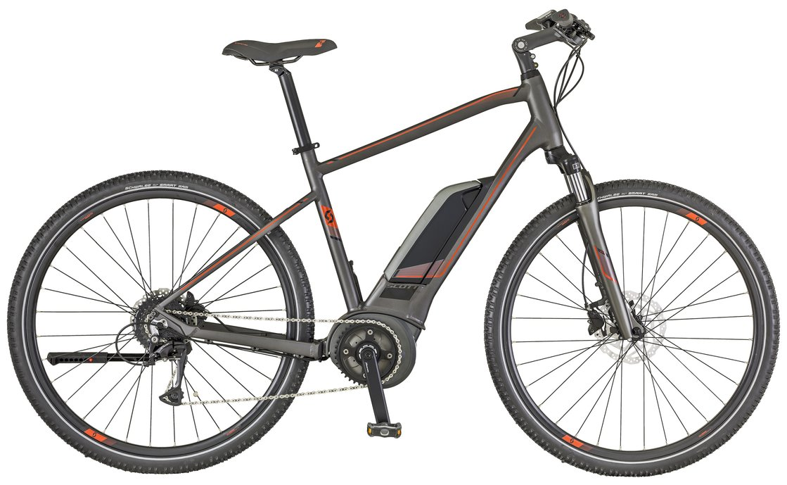 Scott E-Sub Cross 20 Men - 400 Wh - 2018 - 28 Zoll - Diamant