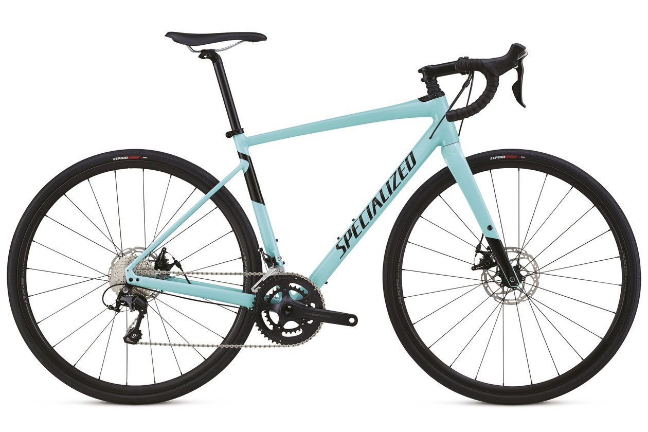 Specialized Men's Diverge Comp E5 - 2018 - 28 Zoll - Diamant