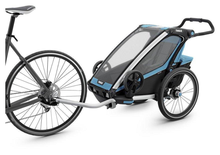 Thule Chariot Sport 1 Blau Modell 2017