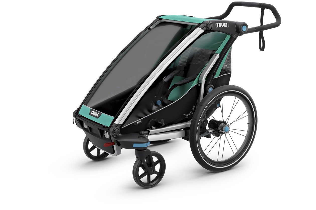 thule chariot lite 1 fahrradanh nger 2018 23 fahrrad xxl. Black Bedroom Furniture Sets. Home Design Ideas