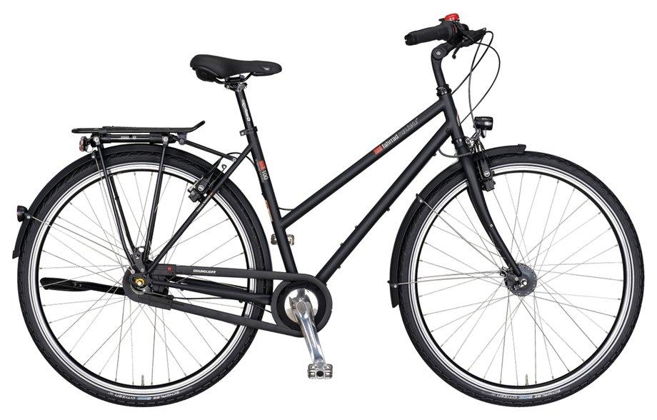 VSF fahrradmanufaktur T 100 Nabe FL HS11 Trekkingrad Schwarz Modell 2017