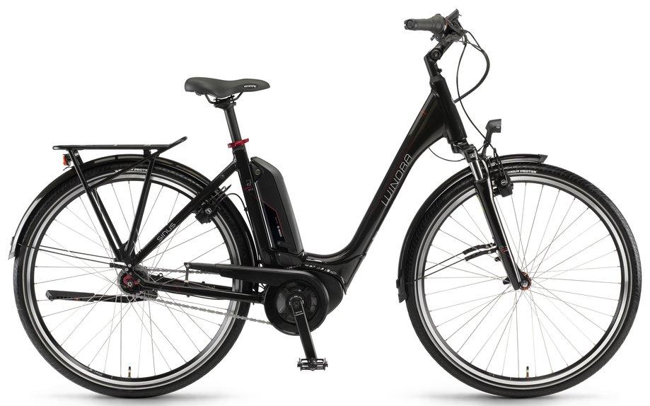 winora sinus tria n7 eco e bike schwarz modell 2018 test. Black Bedroom Furniture Sets. Home Design Ideas
