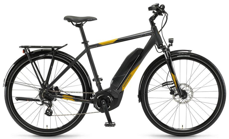 winora yucatan 8 e bike grau modell 2018 test e bikes. Black Bedroom Furniture Sets. Home Design Ideas