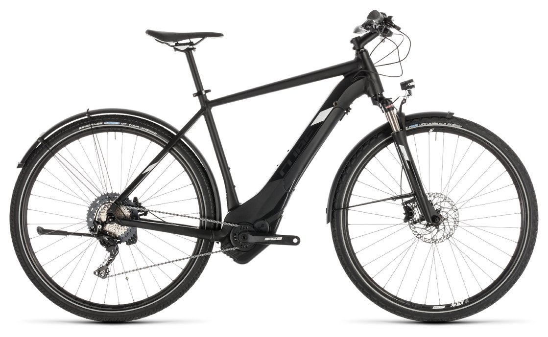 Cube Cross Hybrid Race 500 Allroad - 500 Wh - 2019 - 28 Zoll - Diamant