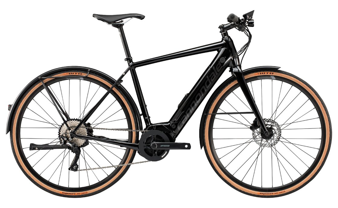 Cannondale Quick Neo EQ - 500 Wh - 2019 - 28 Zoll - Diamant
