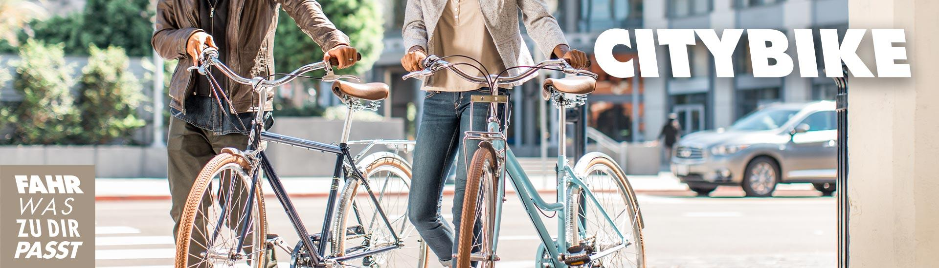 Trekking- oder Citybike - was passt zu dir?